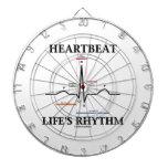 El ritmo de la vida del latido del corazón (ECG/EK Tablero Dardos