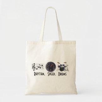 El ritmo, velocidad, teclea el bolso bolsa tela barata