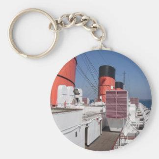 El RMS Queen Mary Llavero Redondo Tipo Pin