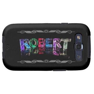 El Roberto conocido en 3D se enciende la fotograf Samsung Galaxy S3 Coberturas