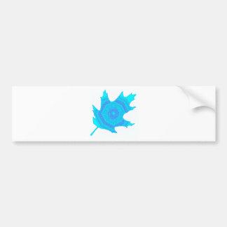 El roble del invierno etiqueta de parachoque