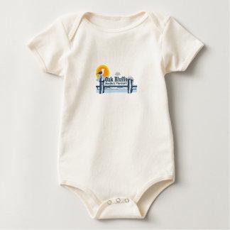 """El roble fanfarronea a diseño del """"embarcadero"""" trajes de bebé"""