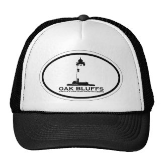 El roble fanfarronea a diseño oval gorras