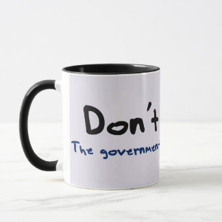 El robo es incorrecto taza