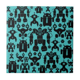 El robot de la diversión de la regla de los robots azulejos cerámicos