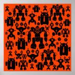 El robot de la diversión de la regla de los robots poster
