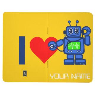El robot del corazón I, robot escucha el corazón Cuaderno