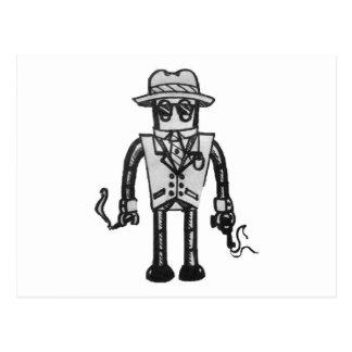 El robot del gángster de la toma de posesión del r