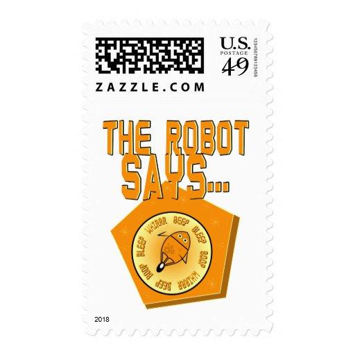 El robot dice… envio