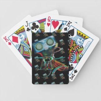 El robot inspiró naipes baraja de cartas