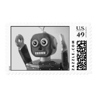 El robot le consigue el tiempo 2000 de la acción sellos