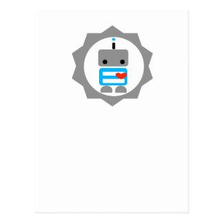 ¡El robot! Postal