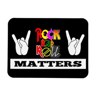 El rock-and-roll importa imán