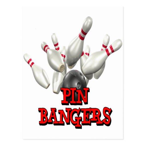 El rodar de los Bangers del Pin Postales