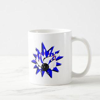El rodar (huelga) tazas de café
