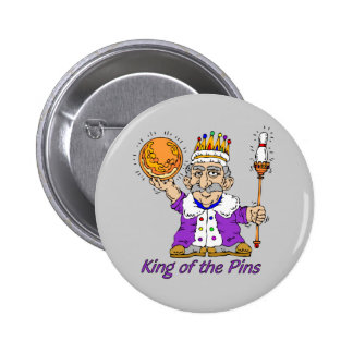 El rodar: Rey Of The Pins Pin Redondo 5 Cm