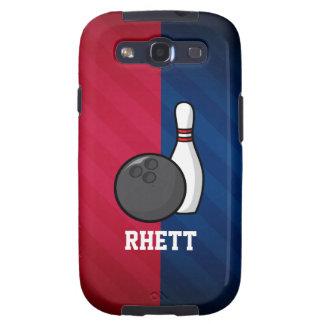 El rodar; Rojo, blanco, y azul Galaxy S3 Coberturas