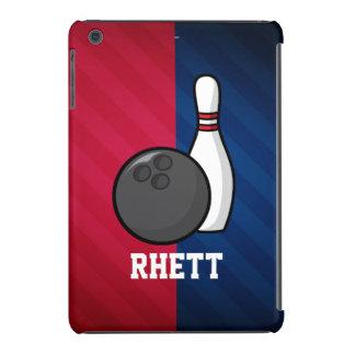 El rodar; Rojo, blanco, y azul Funda Para iPad Mini Retina