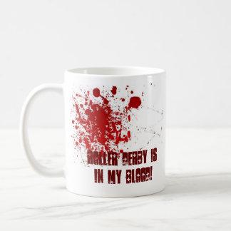 ¡El rodillo Derby está en mi sangre! Taza De Café