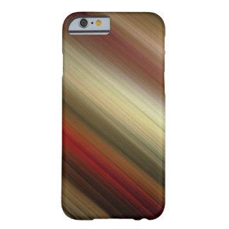 El rojo abstracto bonito de Ombre se descolora las Funda Barely There iPhone 6