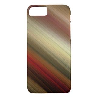 El rojo abstracto bonito de Ombre se descolora las Funda iPhone 7