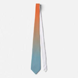 El rojo al azul se descolora corbata