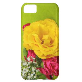 El rojo amarillo de los rosas florece la foto herm