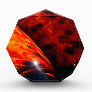 El rojo anaranjado flamea el parachoque clásico de