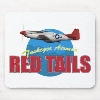 El rojo ata a los aviadores de Tuskegee con P-51 Alfombrilla De Ratones