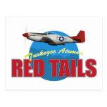 El rojo ata a los aviadores de Tuskegee Postales