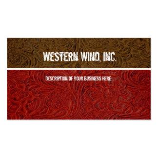 El rojo, Brown equipó la tarjeta de visita de cuer