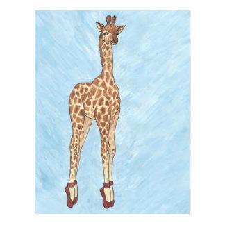 El rojo calza la jirafa