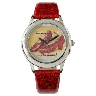 El rojo de encargo no calza ningún lugar como el relojes de pulsera
