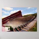 El rojo de Morrison Colorado oscila el Amphitheatr Posters
