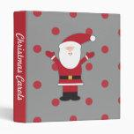 El rojo de Papá Noel puntea la carpeta del navidad