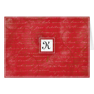 El rojo de rubíes le agradece cardar tarjetas
