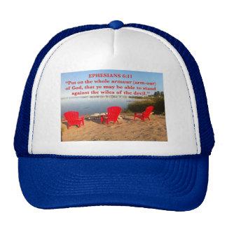 El rojo del 6:11 de EPH preside el gorra de