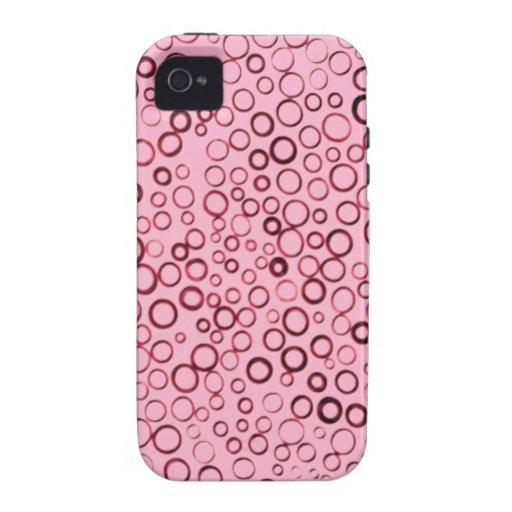 El rojo del arándano circunda la casamata Case-Mate iPhone 4 funda