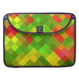 El rojo del verde amarillo modela color de los dis funda para macbook pro