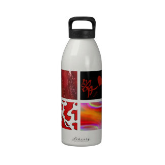 el rojo es el amor ist de la putrefacción muere L Botellas De Agua Reutilizables