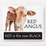 El rojo es el nuevo negro alfombrillas de raton