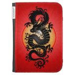 El rojo estalló el dragón chino