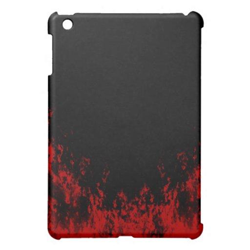 El rojo flamea el caso del iPad