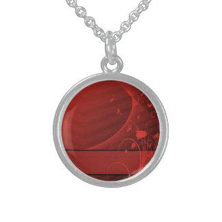 el rojo florece el collar
