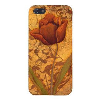 El rojo florece II iPhone 5 Protector