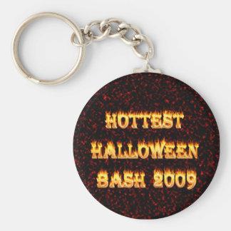 El rojo más caliente del golpe 2009 de Halloween Llaveros