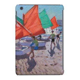 El rojo navega Royan Francia Funda De iPad Mini