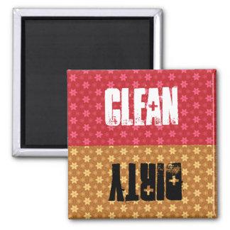 El rojo o las estrellas del oro limpia el lavaplat imanes para frigoríficos