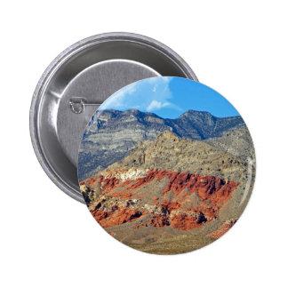 El rojo oscila Nevada Pin