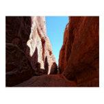El rojo oscila paisaje al sudoeste del desierto de postal
